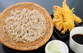 天ぷらざるそば ¥600